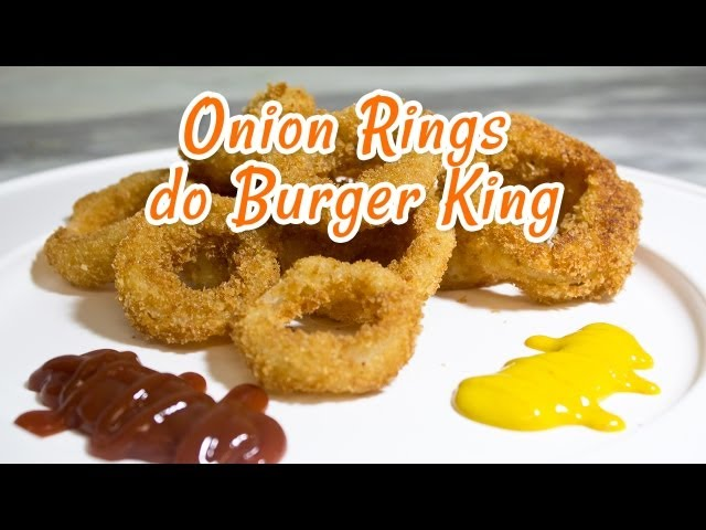 Onion Rings do Burger King (Cebola Empanada) - Receitas de Minuto #29 Vídeos De Viagens