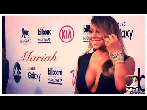 Mariah Carey on the carpet for 2015 Billboard Music Awards