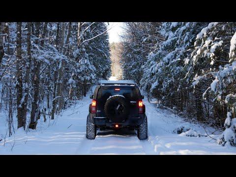 Winter Overlanding In Canada On Hummer H3