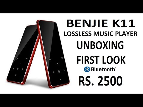 #TECH | BENJIE K11 | Lossless Music Player with Bluetooth | Unboxing and first look