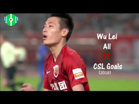 Wu Lei All 27 CSL Goal For 2018 by:FailGoal.com