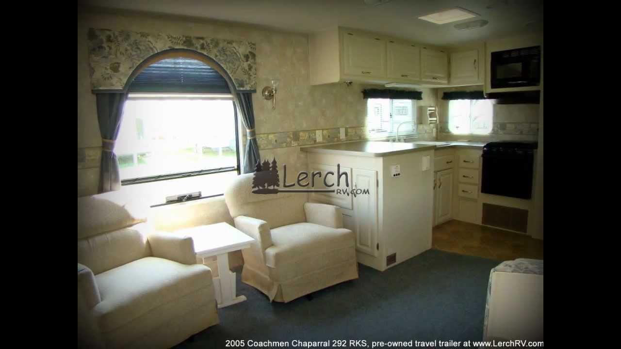 2005 Coachmen Chaparral 292RKS rear kitchen travel trailer