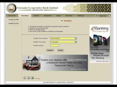 Grenada Co-operative Bank eBanking