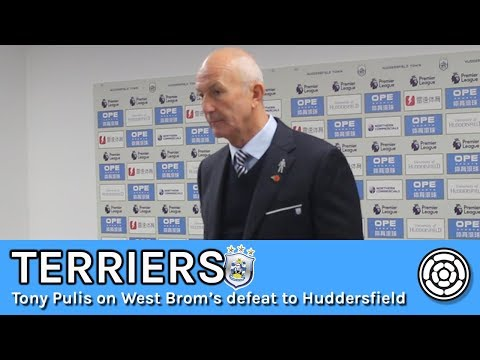 Terriers | Tony Pulis on West Brom's defeat to Town