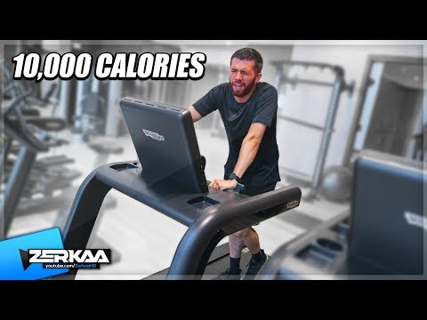 I Tried To Burn 10,000 Calories In 24 Hours!