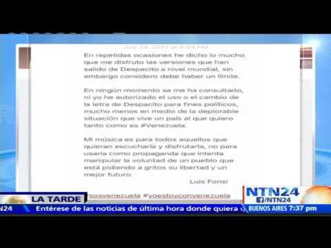 Luis Fonsi y Daddy Yankee rechazaron que Maduro haya versionado Despacito para la campaña Constituye