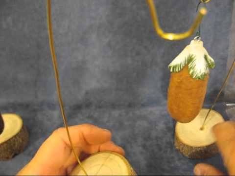 how to make an ornament holder