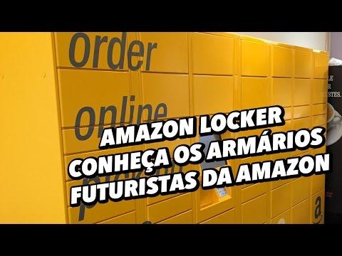 Amazon Locker: conheça os armários futuristas da Amazon - TecMundo