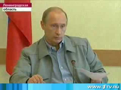 Путин в Пикалево. Дерипаска как школьник. Ручку верни.