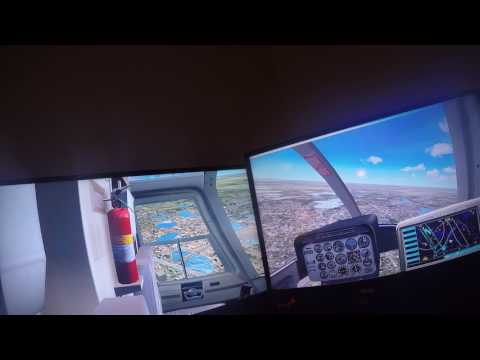 ORLANDO EXECUTIVE AIRPORT-Bell Jet Ranger- Flight Sim X