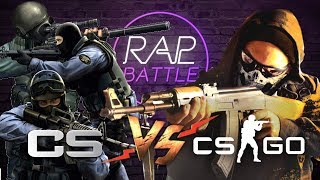 Рэп Баттл - Counter-Strike: Global Offensive vs. Counter-Strike: Source & Counter-Strike 1.6 (Финал)