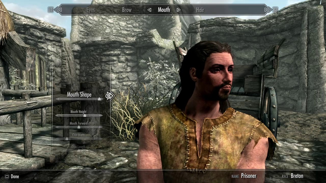 The Elder Scrolls V Skyrim PS4 || Prologue and Character Creation