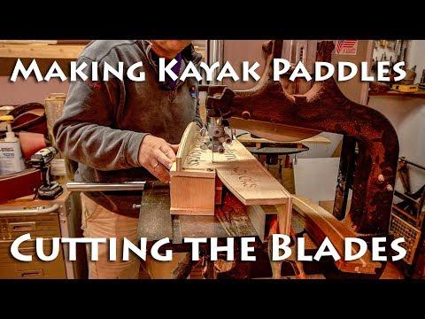 Making Kayak Paddles - Cutting Blades - E2