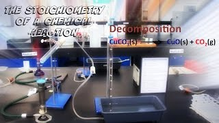 Lab Experiment #7: The Stoichiometry of a Chemical Reaction.