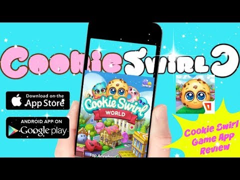 Cookie Swirl World Game App Cookie Swirl C Inspired Game App Review Youtube