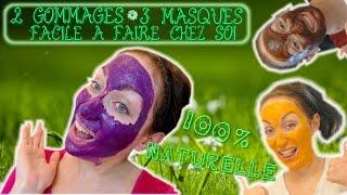 ❥ Recettes : 2 gommages ❀ 3 masques FACILE fait maison 100% naturelle [DIY] ❀ Cosmétique naturelle ❀
