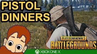 PISTOL DINNERS - PUBG Xbox One X Gameplay