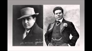 """JOHN McCORMACK e MARIO SAMMARCO - I pescatori di perle - """"Del tempio al limitar   (1911)"""