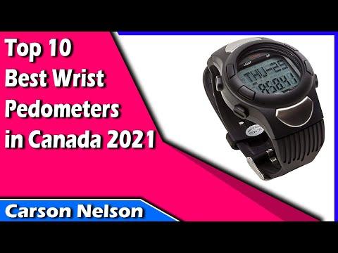 Top 10 Best Wrist Pedometers in Canada 2020