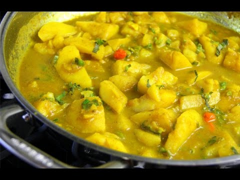 Simple Vegan Curry Potato #TastyTuesdays | CaribbeanPot com