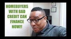Subprime Mortgage Loans for Bad Credit