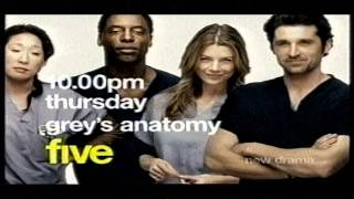 Grey's Anatomy Trailer - Channel 5 2006 (Alternate)