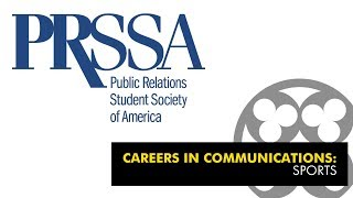 Careers in Communications: Sports