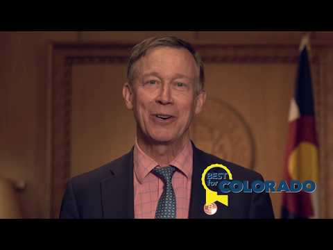 Gov. Hickenlooper - Best for Colorado