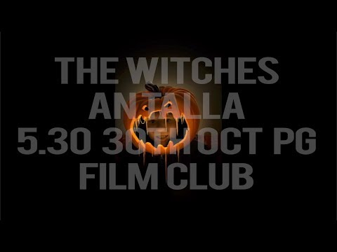 The Witches. Screen Tiree Young Programmers screening