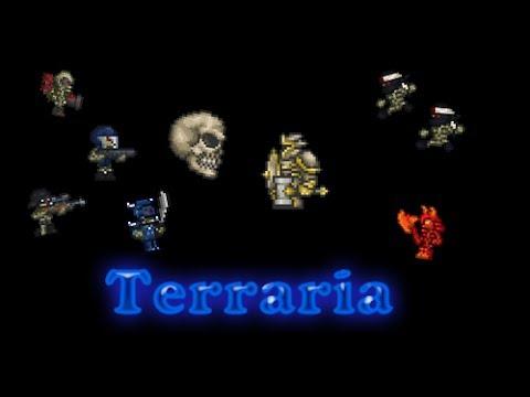 Terraria - Данж и он же в Хардмоде.