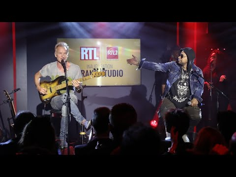 Sting & Shaggy - Morning Is Coming (Live) Le Grand Studio RTL