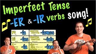 regular er ir verbs in imperfect song