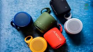 Loa Bluetooth #Sony SRS-XB10: MÀU SẮC NỔI BẬT, ÂM THANH MẠNH MẼ