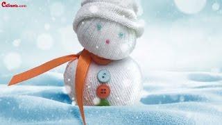 [ENG] Calimero's craft activities - The Snowmen