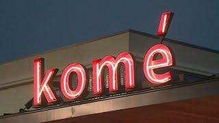 Increase of car break-ins at Kome sushi restaurant