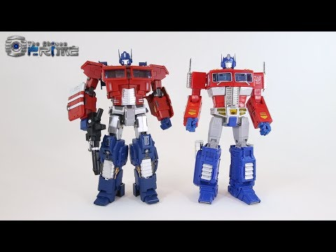 Generation Toy GT-3 OP EX - Masterpiece IDW Optimus Prime - Review