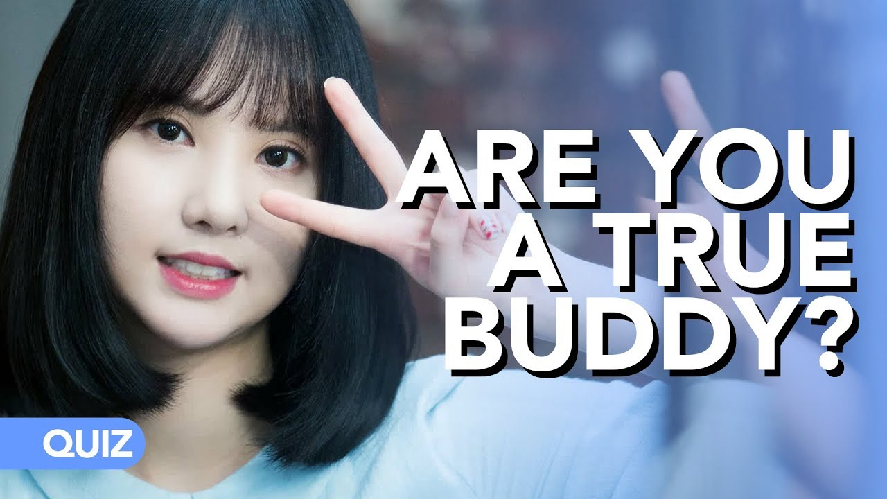 Are you a true Buddy ? (Test your acknowledges on GFriend)   Quiz