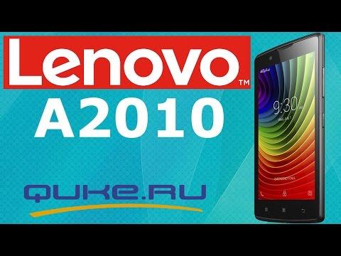 Обзор Lenovo A2010 ◄ Quke.ru ►