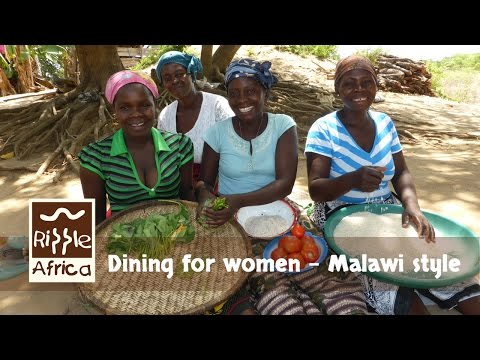 Dining For Women Malawi Style - RIPPLE Africa