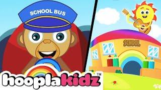 School Bus Song   Kids Songs And More   HooplaKidz