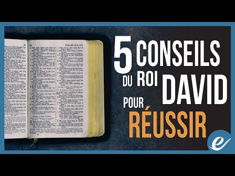 5 CONSEILS DU ROI DAVID POUR RÉUSSIR - Luc Dumont