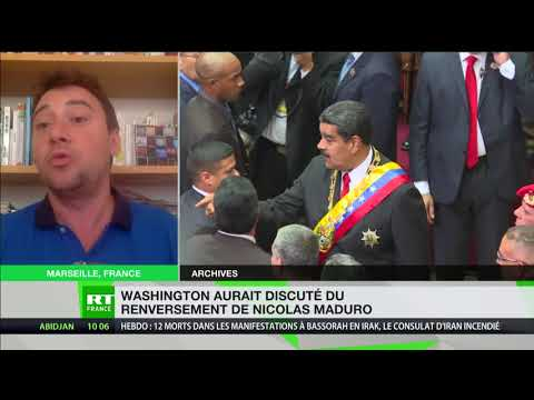 Venezuela : un coup d'Etat américain fomenté avec des opposants à Maduro ?