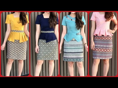 Finest Collection Of Office Wear Outfits Short Skirt With Blouse Designs For Ladies 2019 Youtube