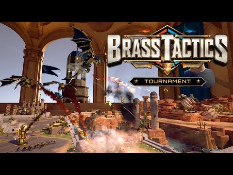 Brass Tactics Launch Tournament | NEW VR RTS from Age of Empires II Designer | Oculus Rift Gameplay