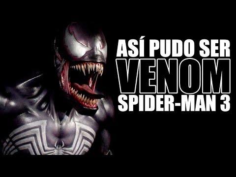 El Diseño De Venom No Utilizado En Spider-Man 3