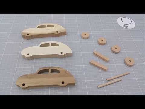 How to Make a Wooden Toy Car