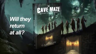 THE CAVE MAZE : WIZARD WARRIOR QUEST - Official Book Trailer