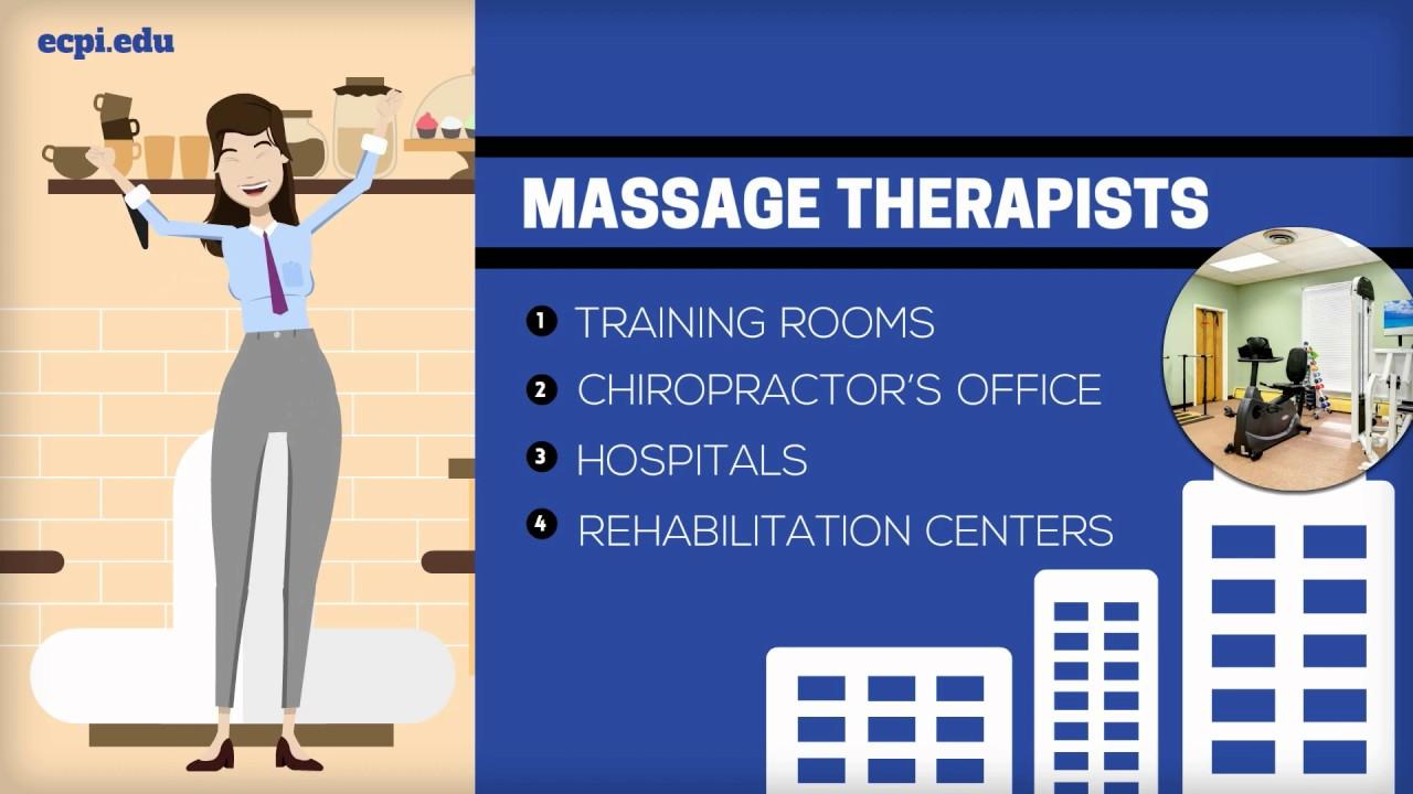 Massage Therapy Degree Ecpi University - Youtube-9901