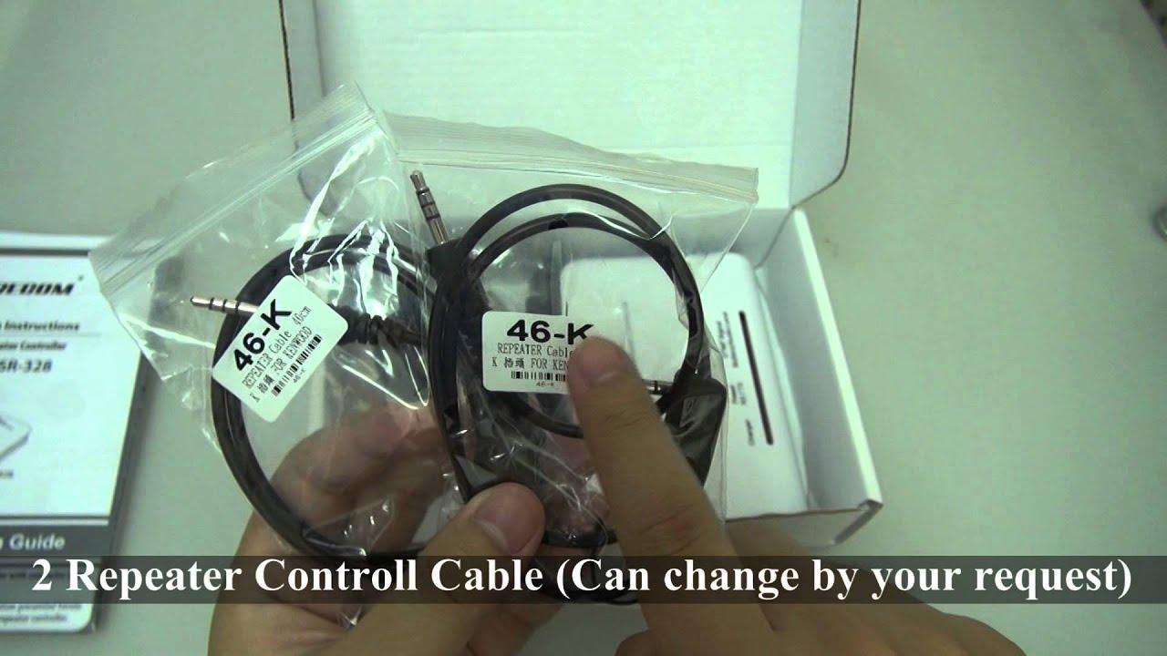 SURECOM SR-328 Duplex Repeater Controller Unboxing