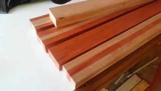 West systems epoxy test Sapele and Padauk